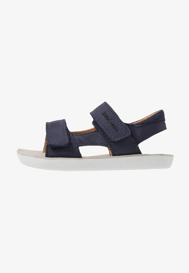 GOA BOY SCRATCH - Sandals - navy