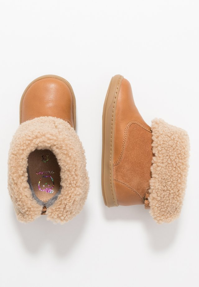 BOUBA BOOTS  - Støvletter - camel/beige