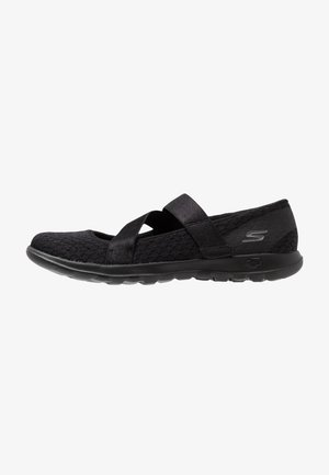 GO WALK LITE - Zapatillas para caminar - black