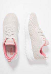 Skechers Performance - GO WALK JOY - Scarpe da camminata - offwhite/pink - 1
