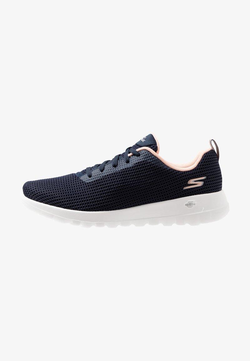 Skechers Performance - GO WALK JOY - Walking trainers - navy/pink