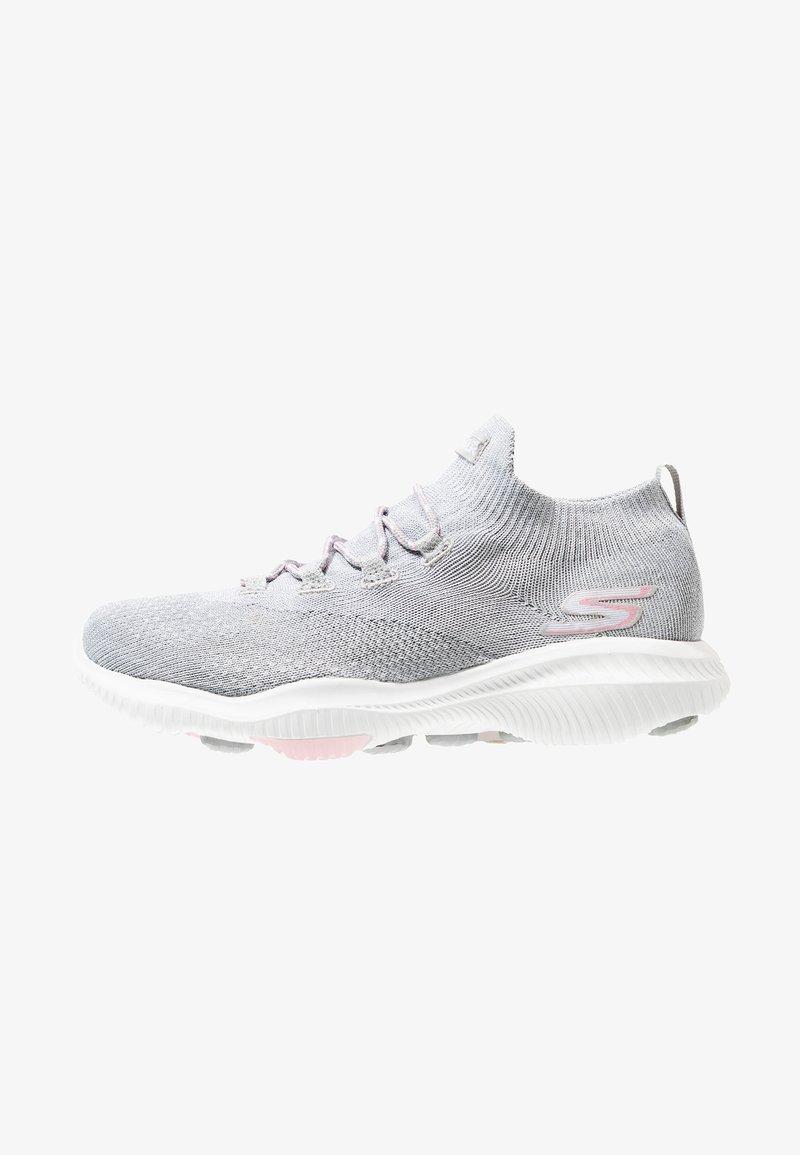 Skechers Performance - GO WALK REVOLUTION ULTRA - Walking trainers - silver/pink