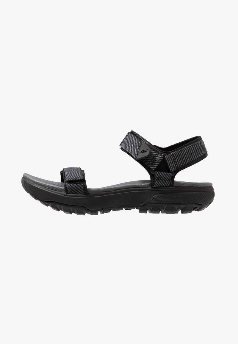 Skechers Performance - OUTDOOR ULTRA - Walking sandals - black/gray