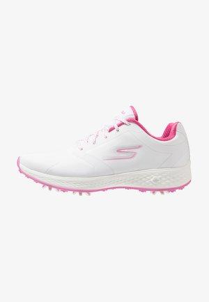 GO GOLF EAGLE PRO - Golfové boty - white/pink