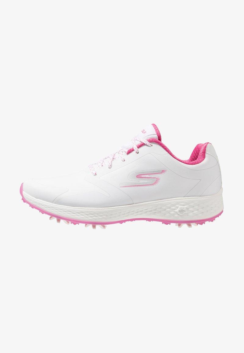 Skechers Performance - GO GOLF EAGLE PRO - Zapatos de golf - white/pink