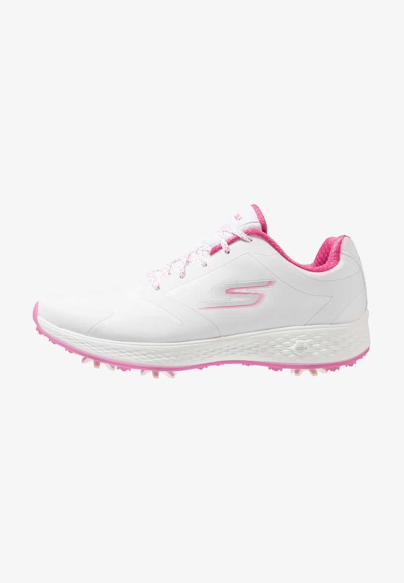 Skechers Performance - GO GOLF EAGLE PRO - Chaussures de golf - white/pink