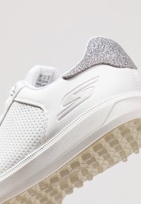 Skechers Performance - GO GOLF DRIVE SHIMMER - Scarpe da golf - white/silver - 5