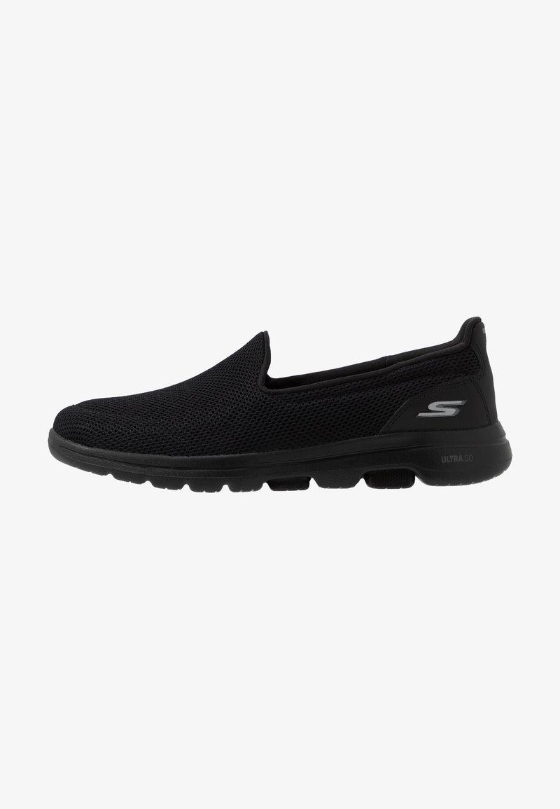 Skechers Performance - GO WALK 5 - Obuwie do biegania Turystyka - black