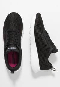 Skechers Performance - GO WALK JOY PARADISE - Kävelykengät - black/white - 1