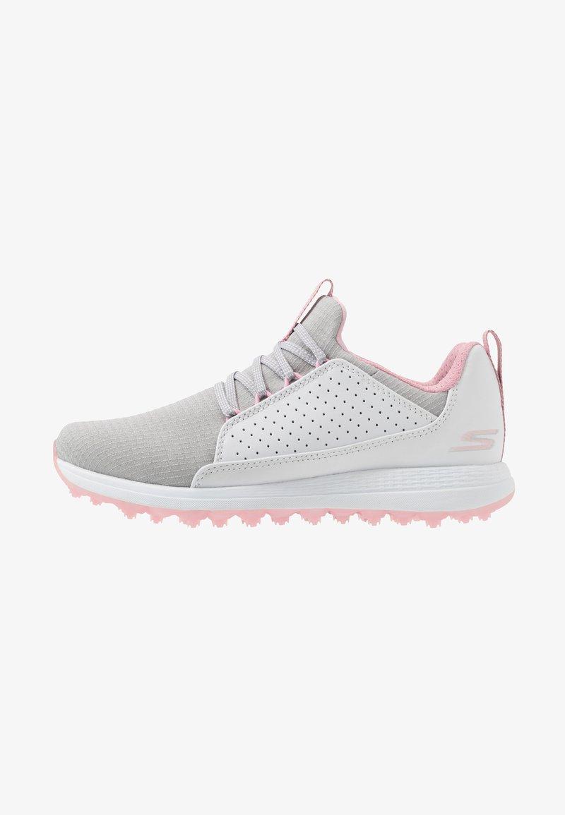 Skechers Performance - MAX MOJO - Golfové boty - white/gray/pink