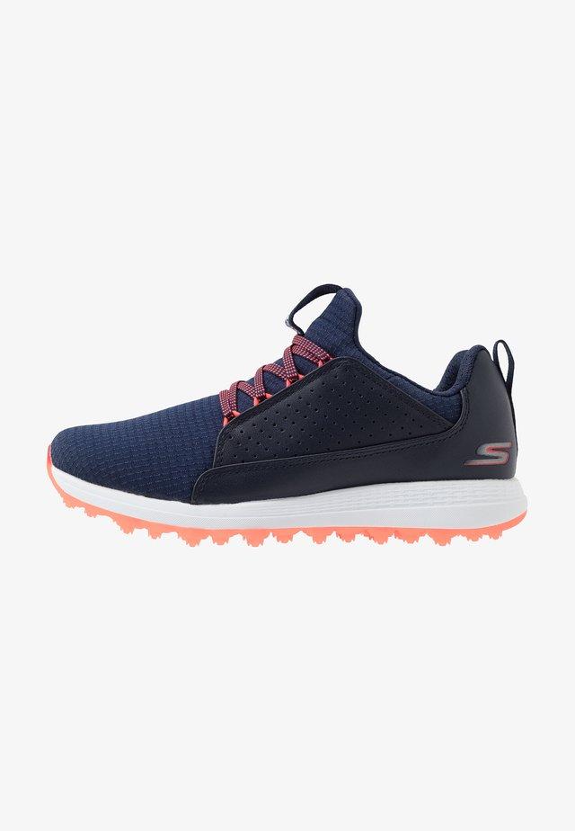 MAX MOJO - Golfové boty - navy/pink