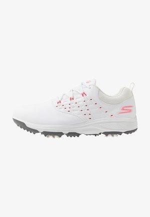 GO GOLF PRO 2 - Golfové boty - white/pink