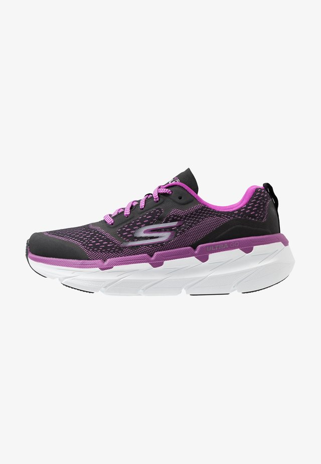 MAX CUSHIONING PREMIER - Neutrala löparskor - black/purple