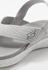 Skechers Performance - ON-THE-GO 600 - Sandalias de dedo - gray - 5