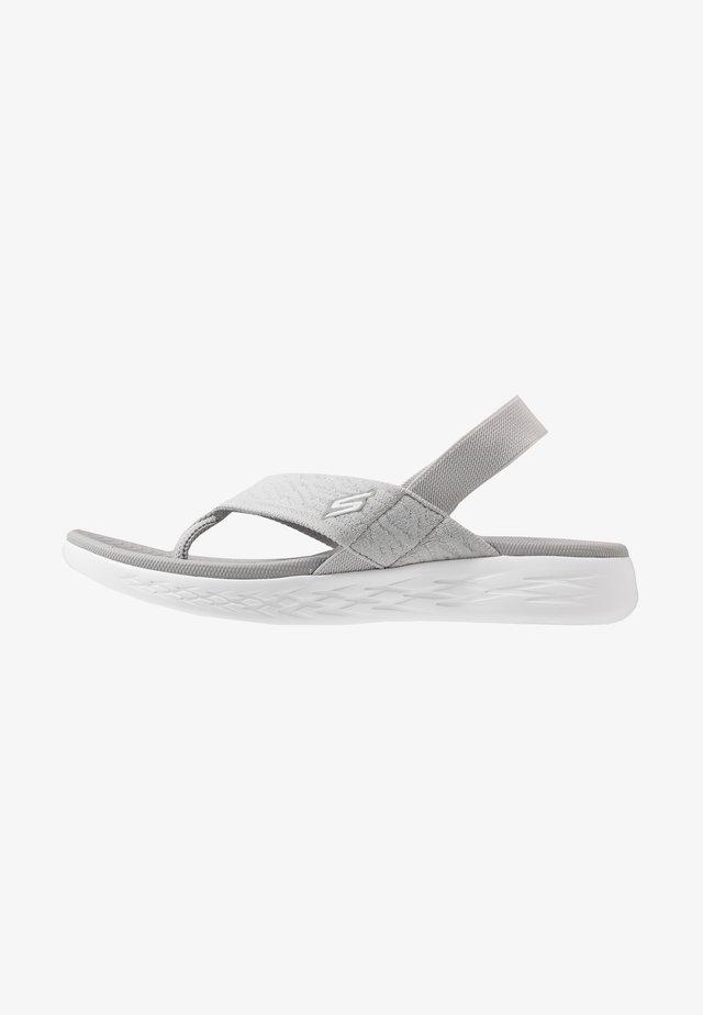 ON-THE-GO 600 - Sandalias de dedo - gray