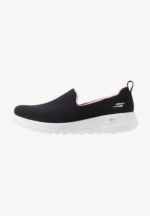 GO WALK JOY - Sportieve wandelschoenen - black/pink