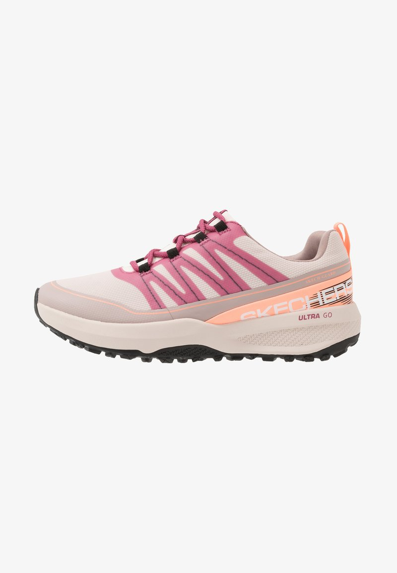 Skechers Performance - GO TRAIL JACKRABBIT - Běžecké boty do terénu - taupe/multicolor