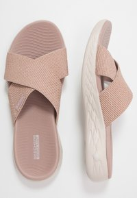 Skechers Performance - ON-THE-GO 600 - Walking sandals - rose gold - 1