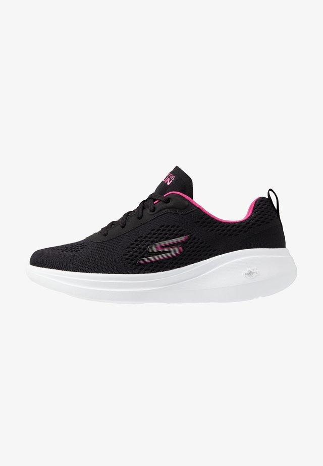 GO RUN FAST - GLIDE - Promenadskor - black/pink