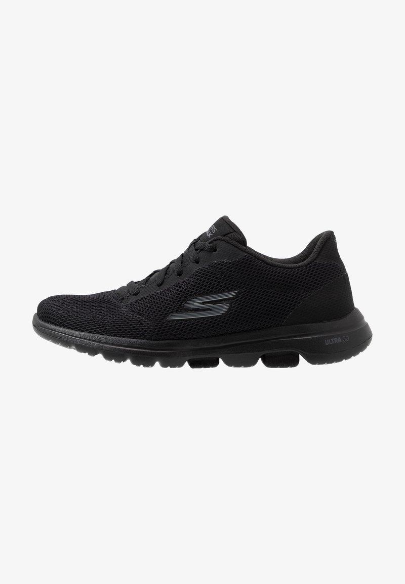 Skechers Performance - GO WALK 5 - LUCKY - Sportieve wandelschoenen - black