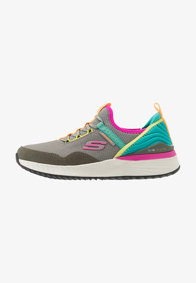 ULTRA - Trail running shoes - gray/multicolor