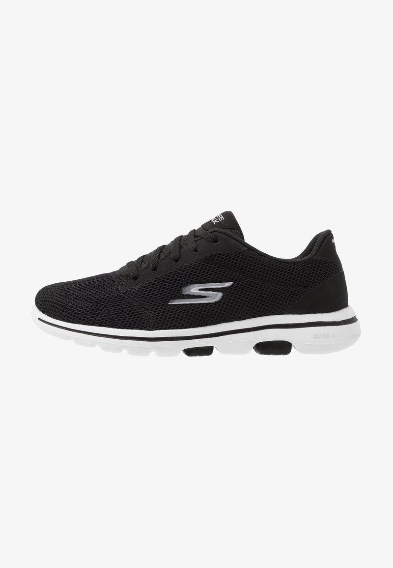Skechers Performance - GO WALK 5 LUCKY - Kävelykengät - black/white