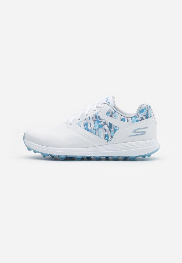 GO GOLF MAX DRAW - Golfschoenen - white/blue