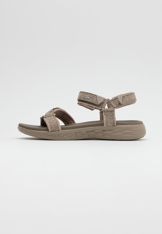 ON-THE-GO 600 RADIANT - Sandalias de senderismo - taupe