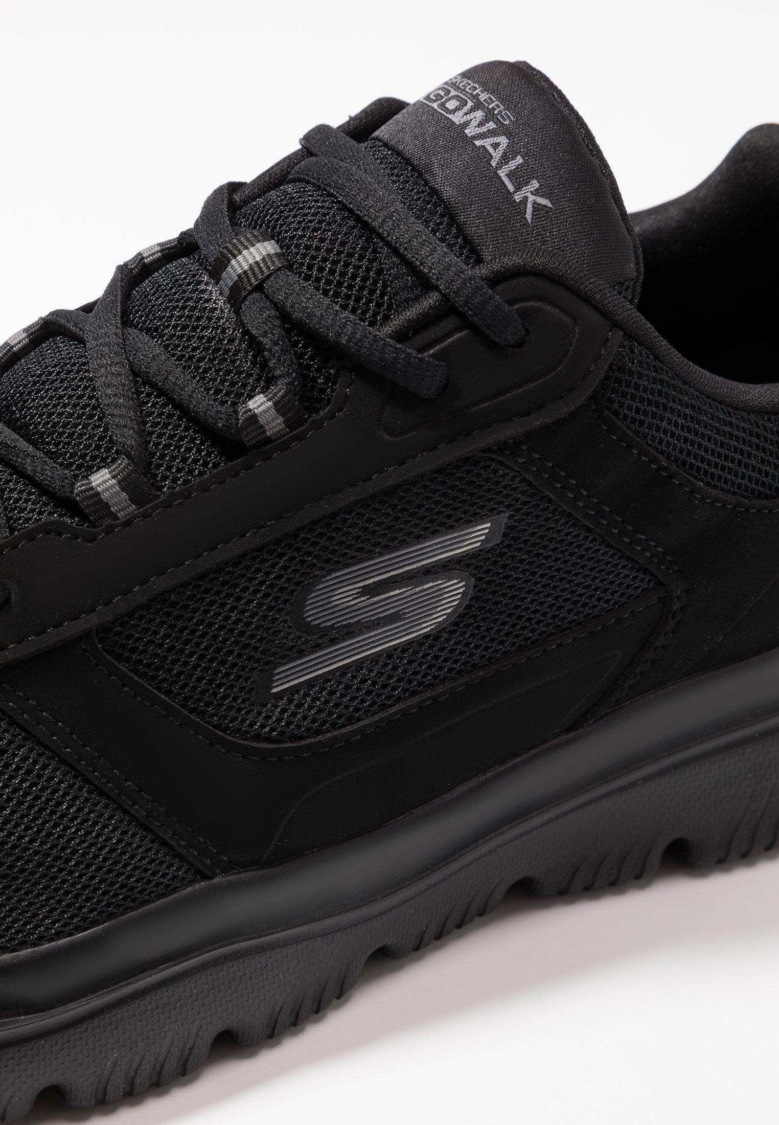 Skechers Performance GO WALK EVOLUTION ULTRA ENHANCE - Obuwie do biegania treningowe - black