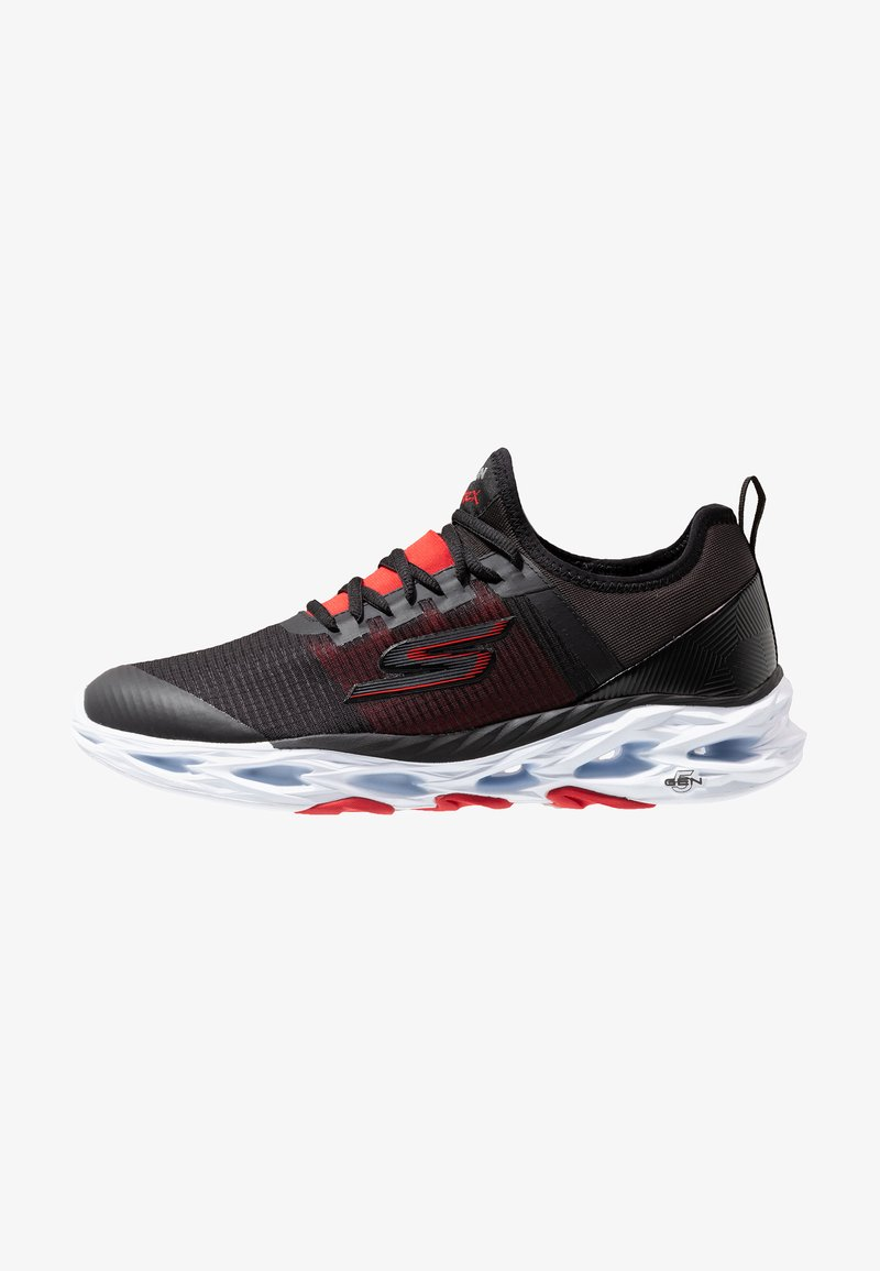 Skechers Performance - GO RUN VORTEX-STORM - Neutral running shoes - black/red
