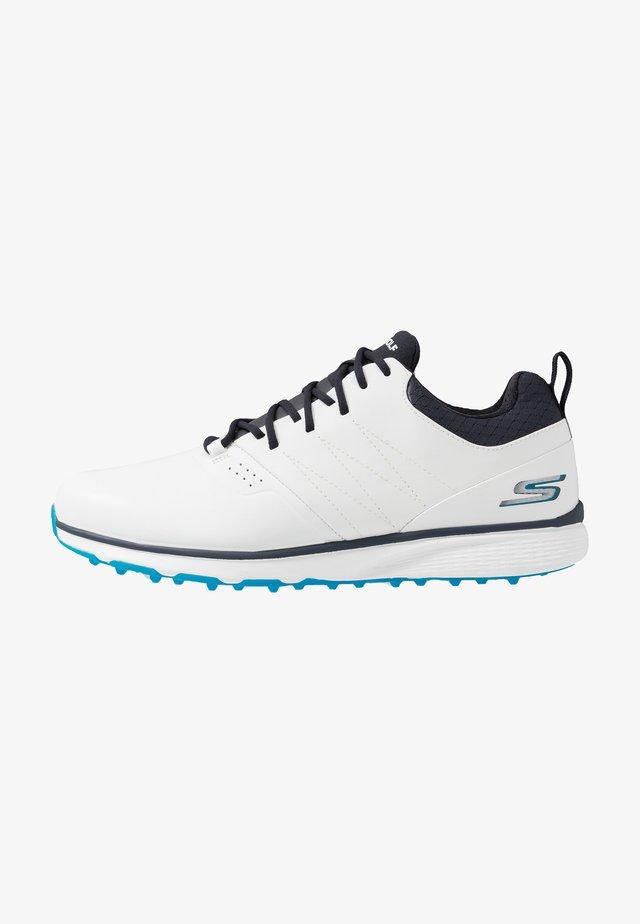 MOJO ELITE PUNCH SHOT - Golfové boty - white/blue