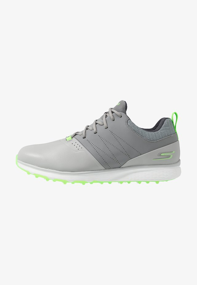 MOJO ELITE PUNCH SHOT - Golf shoes - gray/lime