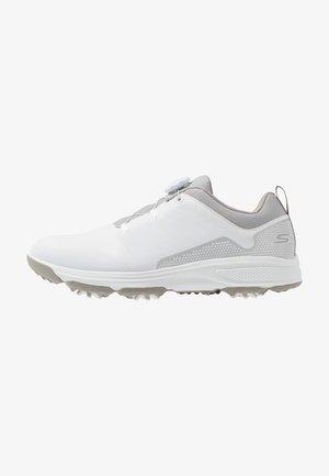 TORQUE TWIST - Golfové boty - white/gray