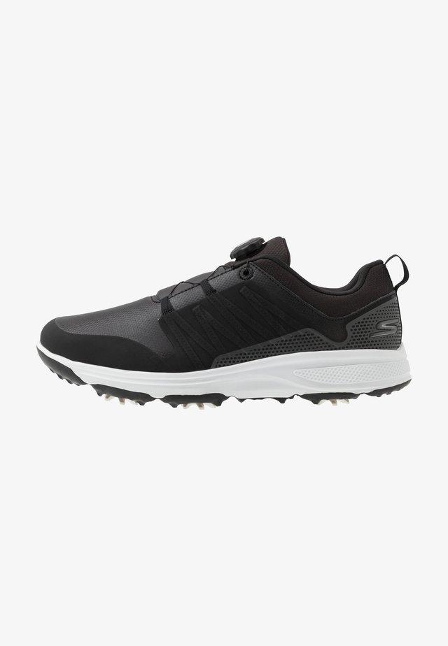 TORQUE TWIST - Golfkengät - black/white