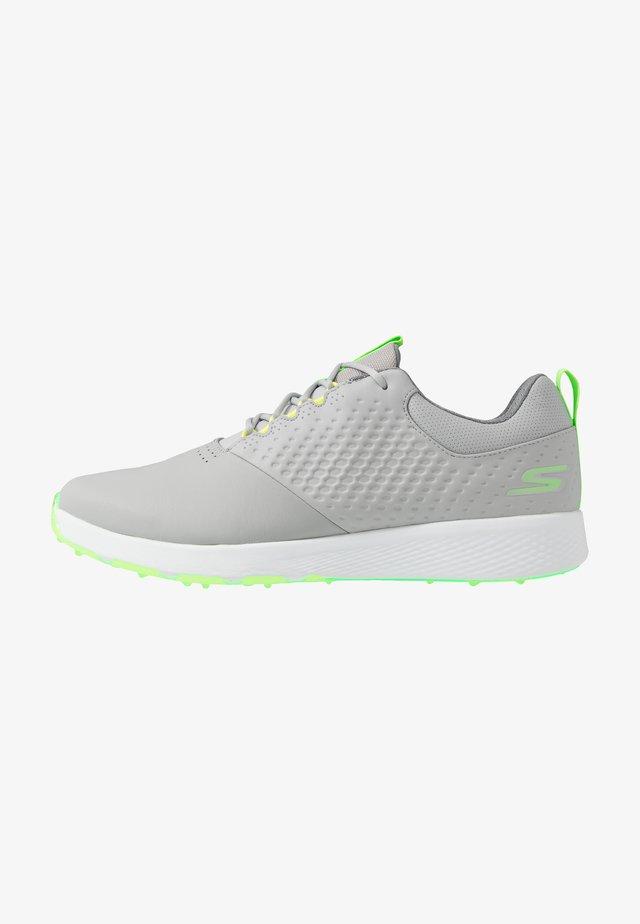ELITE 4 - Golfkengät - gray/lime