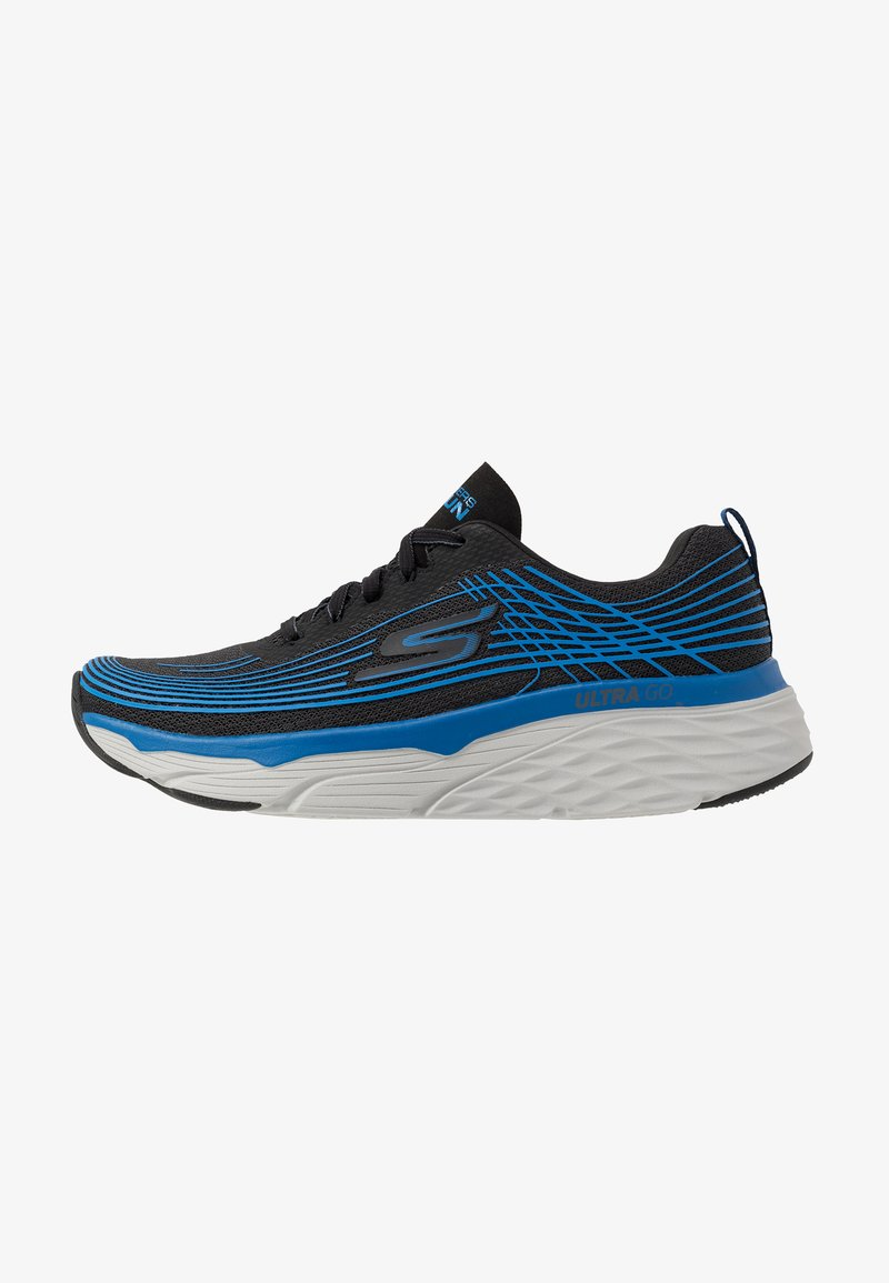 Skechers Performance - MAX CUSHIONING ELITE - Obuwie do biegania treningowe - black/blue