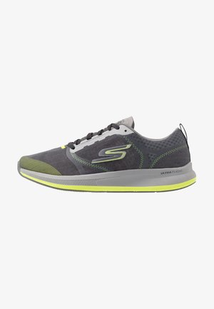 GO RUN PULSE - Obuwie do biegania treningowe - charcoal/lime