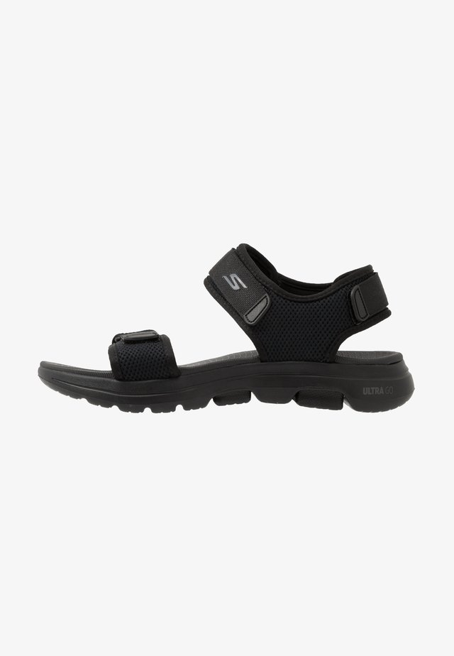 GO WALK 5 - Walking sandals - black