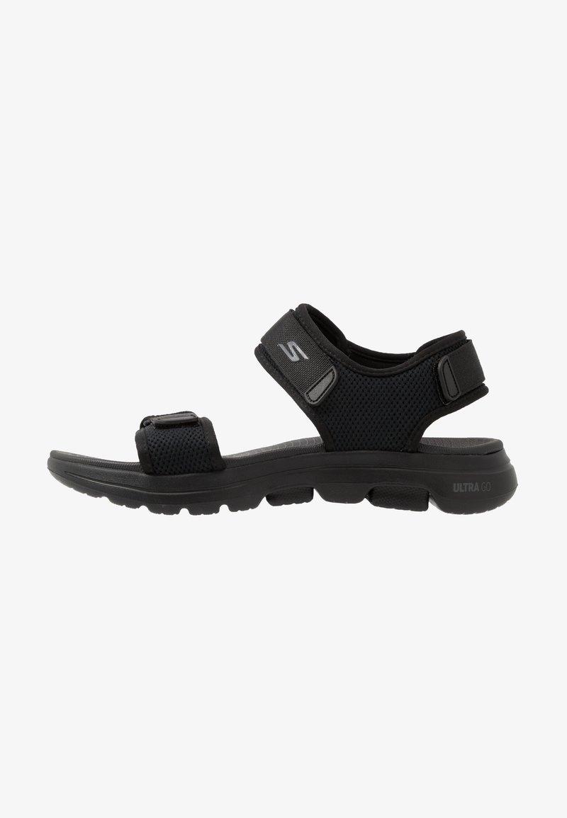 Skechers Performance - GO WALK 5 - Sandali da trekking - black