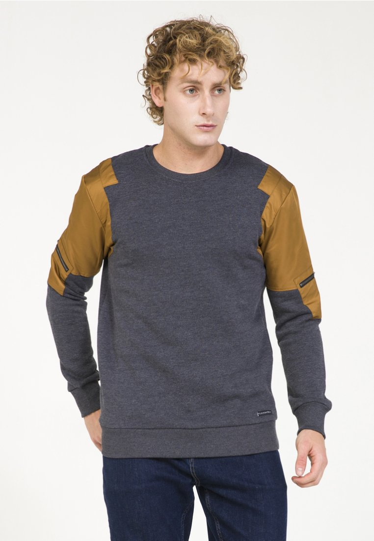 PLUS EIGHTEEN - Sweatshirt - marine melange