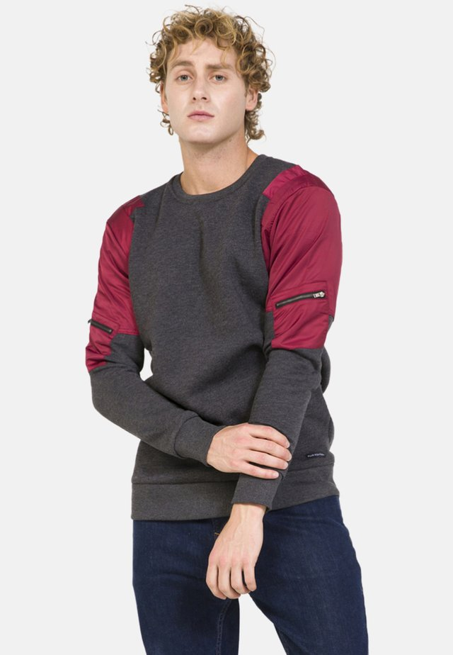 Sweater - schwarz melange