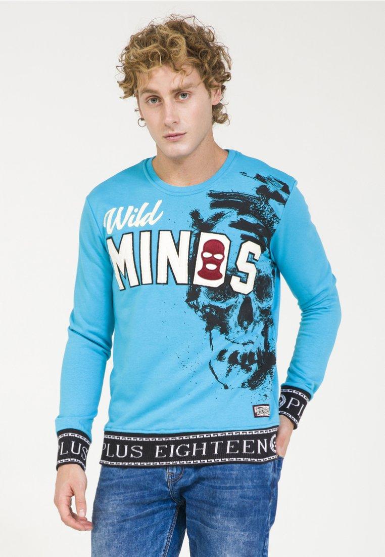 PLUS EIGHTEEN - Sweatshirt - turquoise