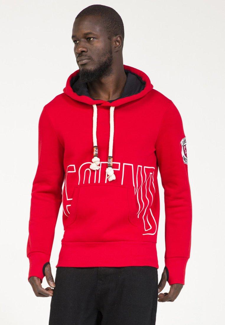 PLUS EIGHTEEN - Hoodie - red