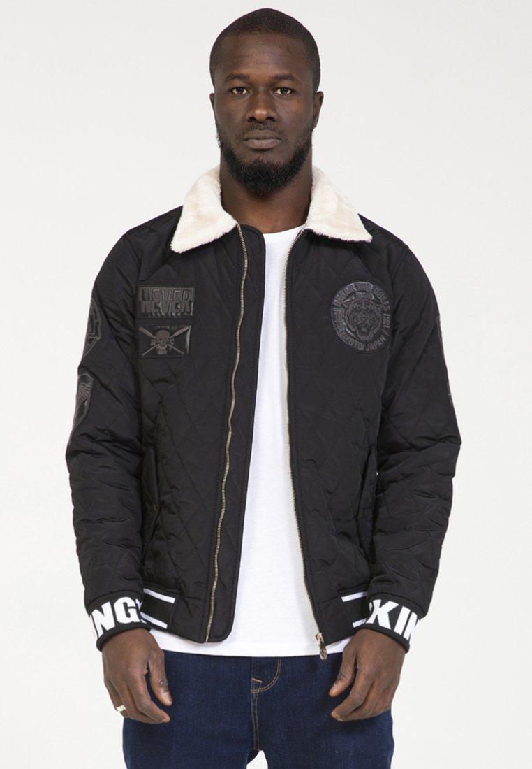 PLUS EIGHTEEN - Lehká bunda - black