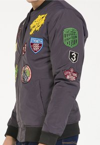 PLUS EIGHTEEN - Bomber Jacket - anthracite - 3