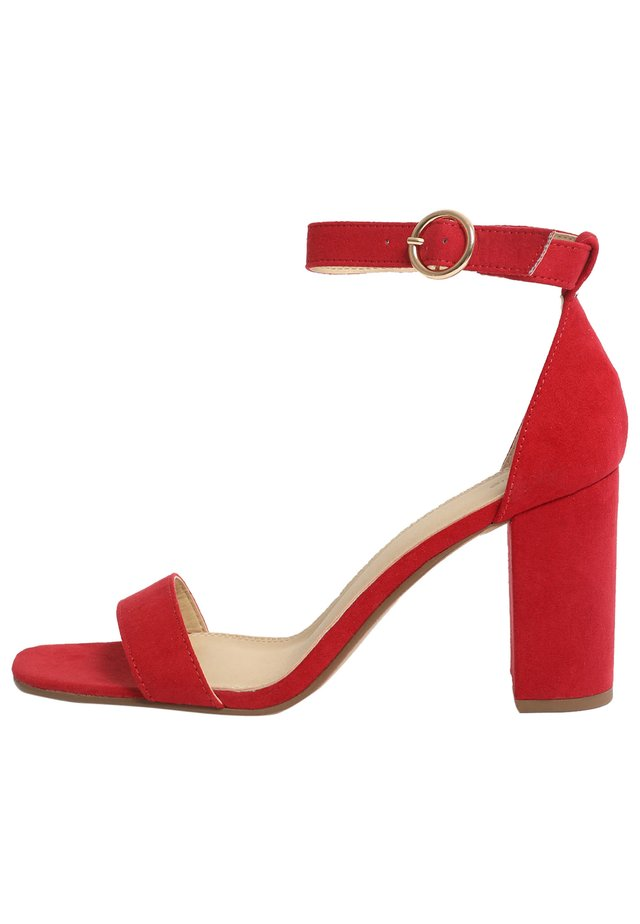 Sandals - ziegelrot
