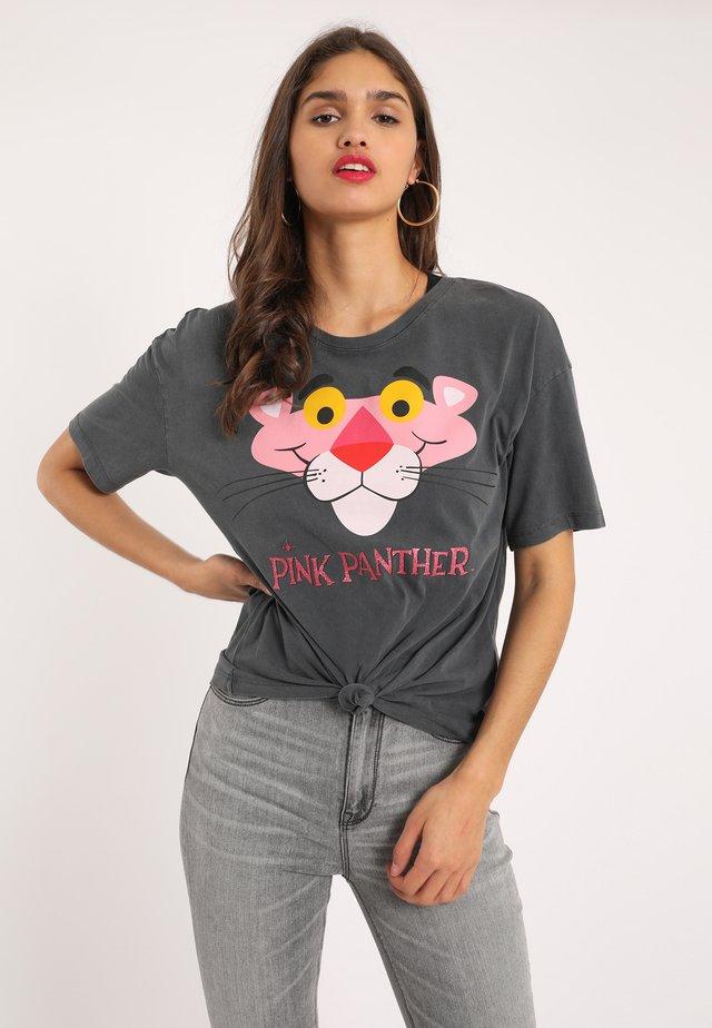 PANTHER - T-shirt print - dunkelgrau