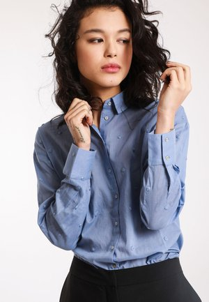 MIT MOTIV - Button-down blouse - sky blue