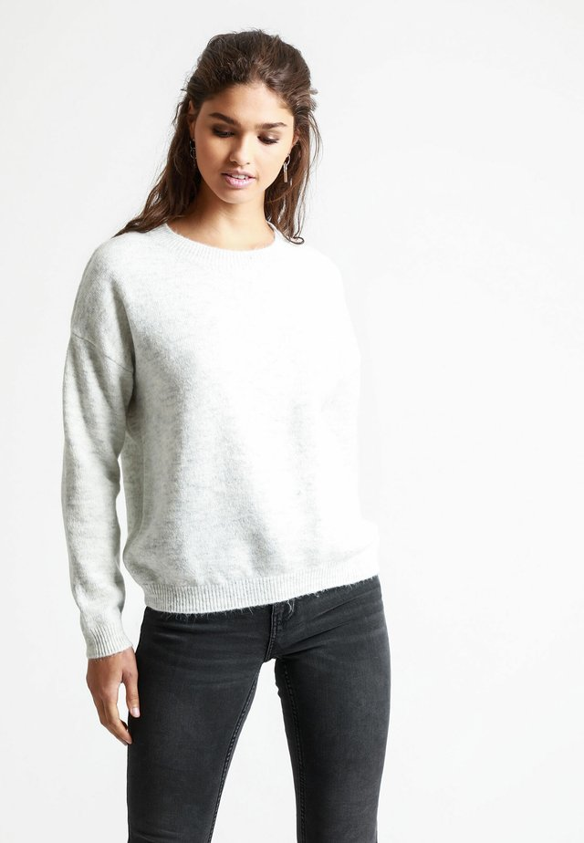Pullover - Heather gray