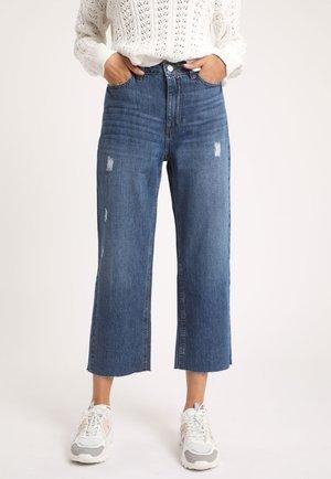Flared Jeans - denim blue